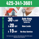 Locksmiths Mukilteo WA