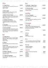 Menus & Prices, Nisa Thai Restaurant, Sutton