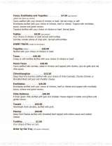 Pricelists of Don Jose & Ricardo's Mexican Cafe