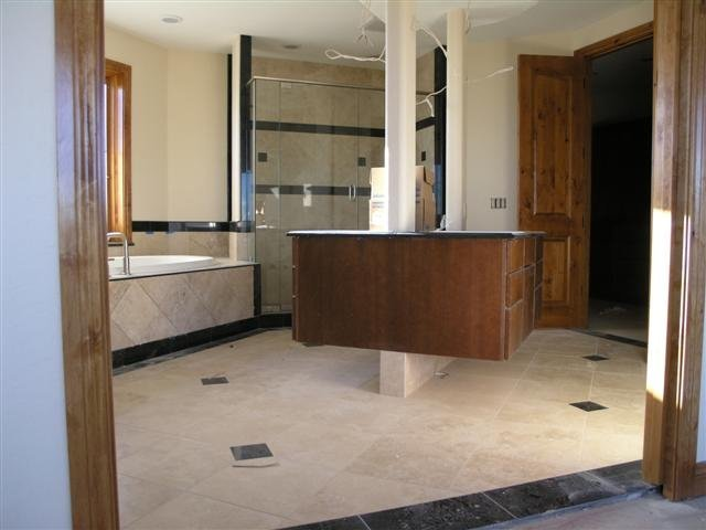 New Album of Backslash Tile Installation Serving - Photo 1 of 5