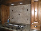 Backslash Tile Installation Serving