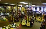 A massive range of electric and acoustic guitars