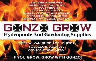 GONZO GROW Hydroponic and Garden Supplies