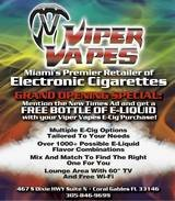 Viper Vapes, Coral Gables