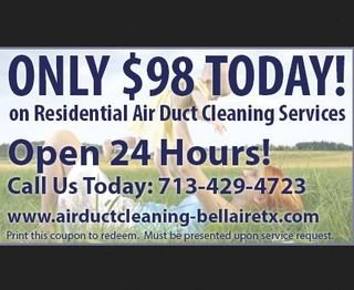 Air Duct Cleaning Bellaire TX
