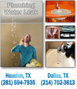 Plumbing Water Leak Repair, Dallas