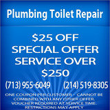 Pricelists of Plumbing Toilet Repair Dallas