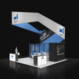 Exponents Trade show display