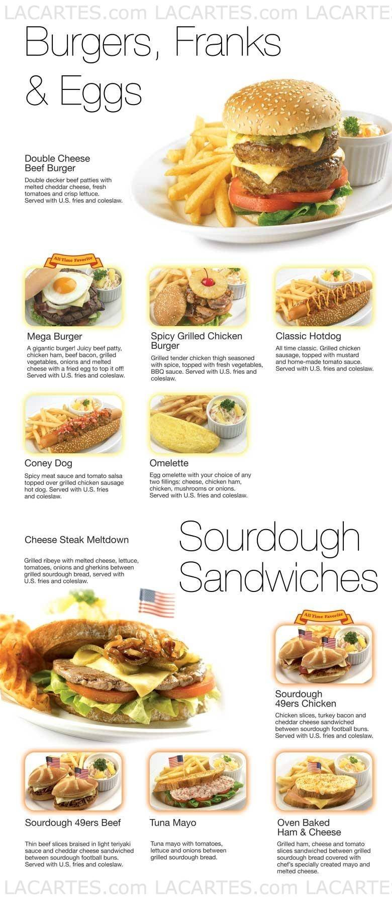 1 of 4 Price Lists & Menus – Swensen\'s Restaurants @ Bugis Junction ...