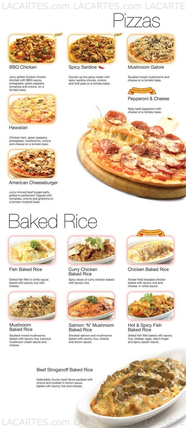 2 of 4 Price Lists & Menus – Swensen\'s Restaurants @ City Square ...