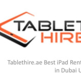 Tablet Hire UAE