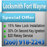 Pricelists of Locksmith Fort Wayne IN