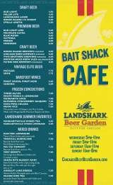 Pricelists of LandShark Beer Garden