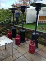 Patio Heater and Gas Hire
