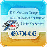 Pricelists of 24 Hour Locksmiths Tempe