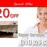 Garage Doors Repair in The Woodlands TX