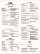 Pricelists of Bar Louie - Westminster