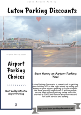 Get a discount to park your car at the safe Meet and Greet Parking facility at the Luton Airport. It is the best option for the disabled customers as the chauffeur will pick your car and bring it back.