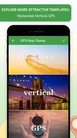 New Album of GPS Map Stamp: Add a Geotag on Gallery Photos