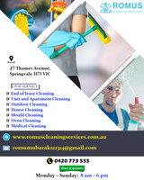 End of lease Cleaning Adelaide | Romus Cleaning Services, Springvale