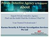 One of the best Private Detective Agency in Singapore  Private Detective Agency in Singapore 1 Park Road  People's Park Complex #04-15