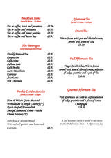 Pricelists of Hall Garth Hotel and Country Club