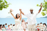 They did it! Congratulations! This couple just got married in St. Thomas