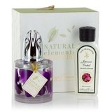 Natural Elements Fragrance Lamp Gift Set - Orchid Petals