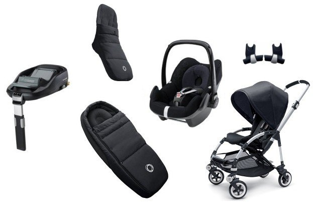 buy now us bugaboo bee plus full newborn pebble. Black Bedroom Furniture Sets. Home Design Ideas