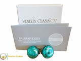 Clip Earrings Medium - Aqua