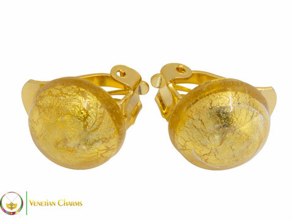 Clip Earrings Small - Gold