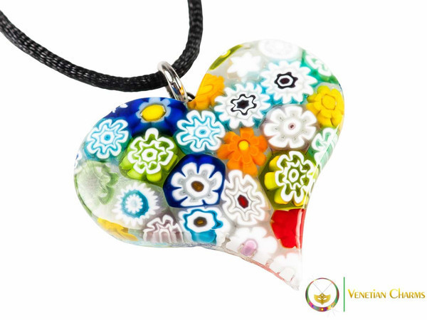 Heart Pendant - Multicolour