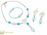 Levante Set - Blue, Pale Blue and Clear