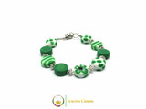 Murano Glass Bracelet - Green