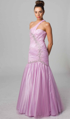 E407 MERMAID DREAM DRESS ORCHID