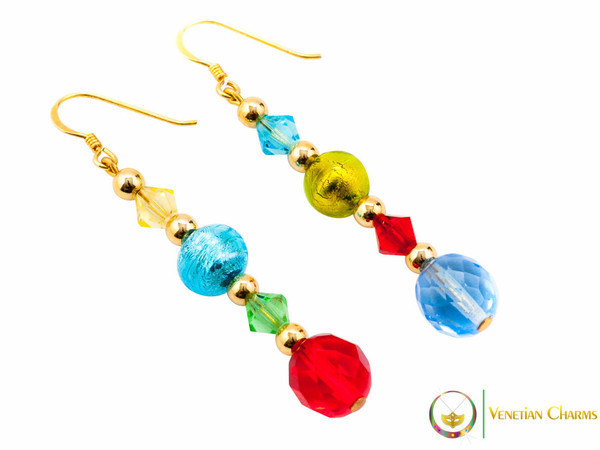 Perlage Earrings - Multicoloured