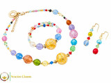 Perlage Necklace Set - Multicoloured