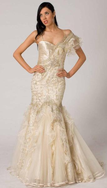 RC107 ANGELIC ROMANCE EVENING DRESS SUGARY