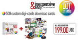 Digi-cards Download Cards 500