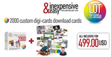 Digi-cards Download Cards 2000