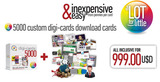 Digi-cards Download Cards 5000