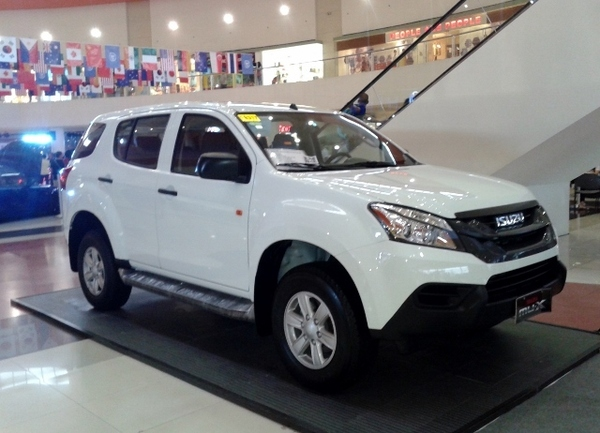 Buy Now: Php999999.99 2015 Isuzu MU-X LS 4x2 MT | Auto ...