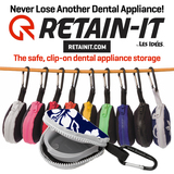 Retain-It™ - Hawaiian Print Neoprene with White Zipper and Carabiner