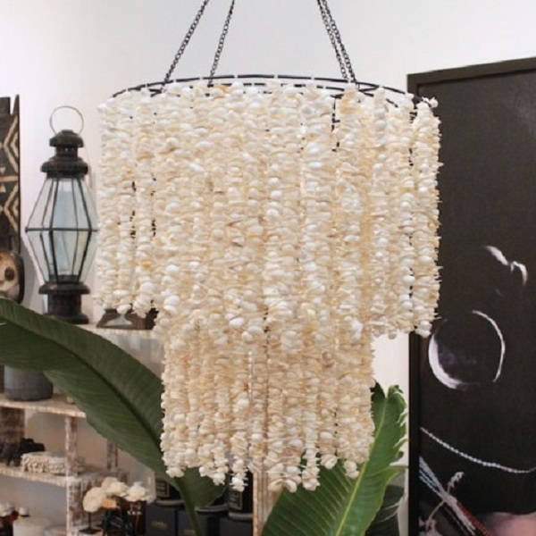 Buy Now: A$695.00 Shell Chandelier