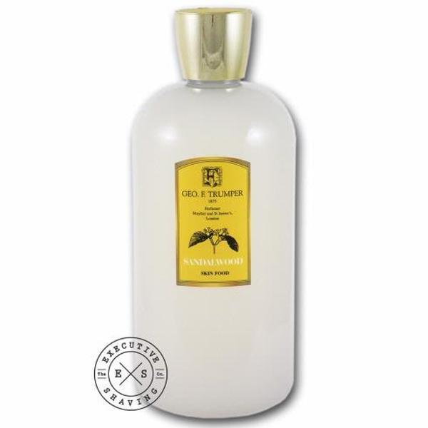 Geo F Trumper Sandalwood Skin Food (500ml)