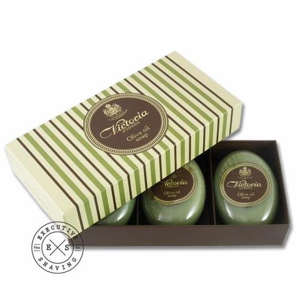 Olive Oil Soap from Victoria of Sweden (3 x 100g)