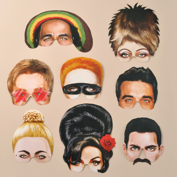 Musical Icons Masks
