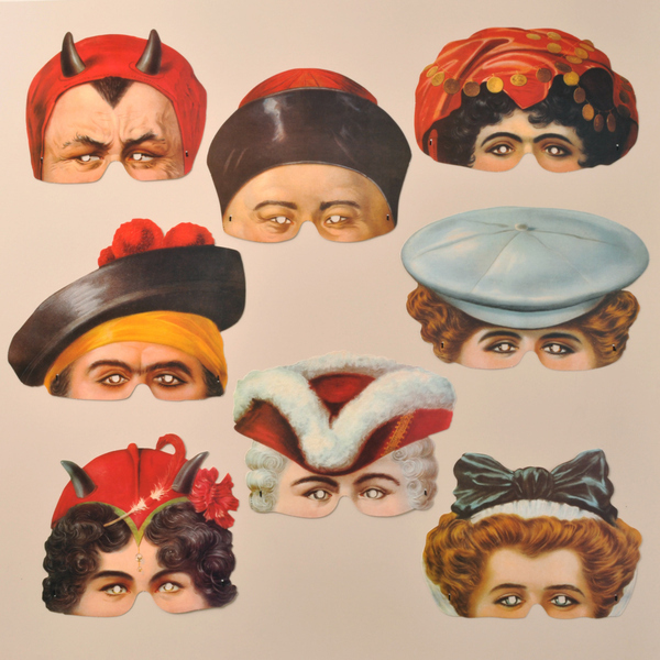 Madame Tussauds Masks