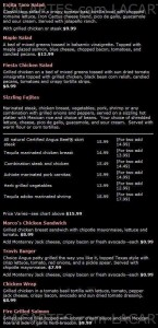 Menus & Prices, Iron Cactus Mexican Grill & Margarita Bar Austin North, Austin