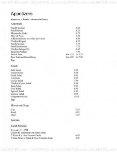 Menus & Prices, Esposito's Pizza - Hollywood, FL, Hollywood